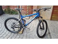 Pace 405 Full Suspension Mountain Bike Ready to Ride