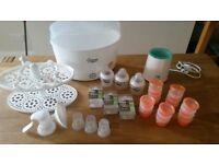 Electric steriliser Tommee Tippee bundle