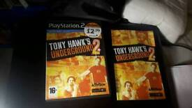 Tony hawks underground 2 ps2 game