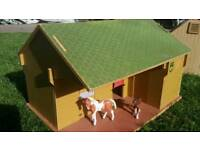 Brushwood toy stable