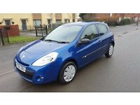 2010 Renault clio 1.2**FULL MOT** LOW MLS 45K**VERY CLEAN IN AND OUT**VGC**FSH