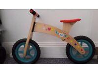 Chad Valley Wooden Balance Bike