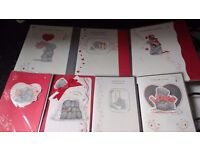 *BARGAIN* 180 ME TO YOU VALENTINES GREETING CARDS + 150 CHRISTMAS ITEMS MOSTLY FROZEN * SEE PICS*
