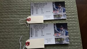NASCAR tickets for the April 22/23 Bristol Tennessee race