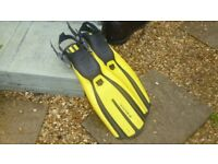 Diving Fins size small
