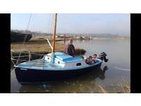 17 ft sailing boat