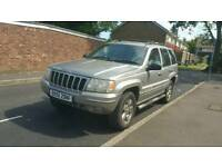 02 Jeep Grand Cherokee Limited Automatic 3.0 Diesel 99K Miles HPI Clear