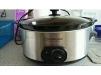 Cookworks Signature slow cooker 6 litre