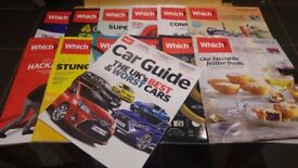 Full set of 2017 Which Magazines including 2017/2018 Car Guide (13 issues in total)