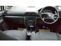 VOLKSWAGEN SHARAN 1.9 TDI SE 115 5dr Tip Auto Practical 7 Seater FSH + 1 Yrs Mot (silver) 2008