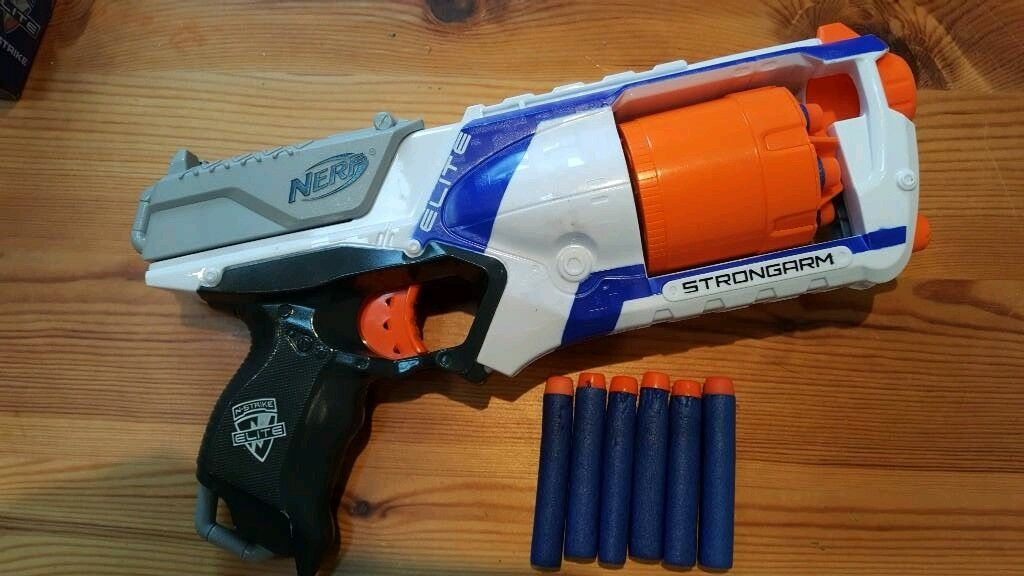 Nerf Strongarm gun