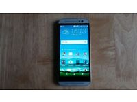 HTC One M8 - 16GB - Glacial Silver (Unlocked) .
