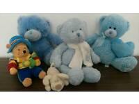 Baby boy teddy bears