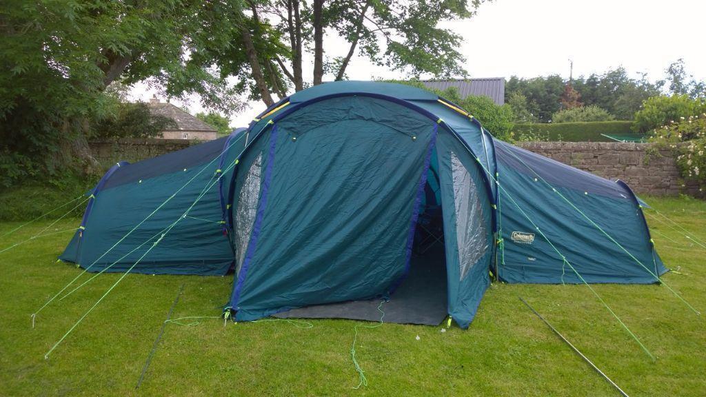 Coleman Quadspace 9 Person Tent In Portobello