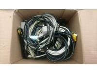 Box of PC cables