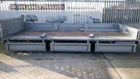 Brian James tilt bed plant transporter trailer