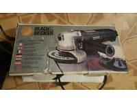 "black and decker mini angle grinder 4.5"""
