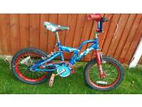 Spiderman bike in good condition