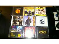COLLECTION 50 CD ALBUMS MOST UNPLAYED.ELO..COLDPLAY ETC..