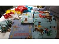 Cowboy children's bedding like Cath Kidston
