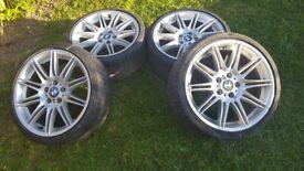 Bmw 3 M sport alloy wheels