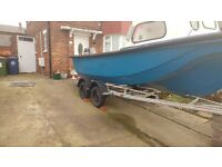 Trailer twin axle boat trailer 2 ton