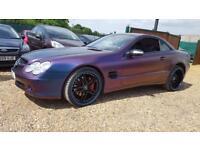 MERCEDES-BENZ SL 5.0 SL500 2d AUTO 302 BHP (black) 2005