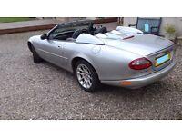 Jaguar XKR 4 ltr convertible with bespoke Tonneau covers