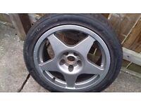 Evo 17 alloy wheel