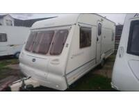 4 BERTH 2001 BAILEY RANGER FIX VED WITH END BEDROOM FULL AWNING AND WE CAN DELIVER