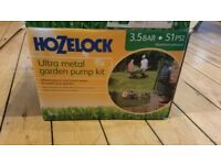 Hozelock Ultra Metal Garden Water Pump 3.5 bar/51 PSI Pressure - 7819