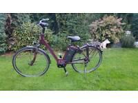 kalkhoff select s8 2017 electric e bike small