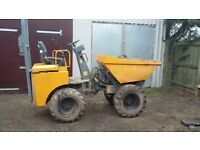 Dumper 1 Ton skip loading high lift