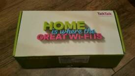 Brand new unboxed Talk talk wireless router
