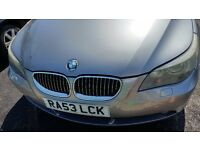 BMW 5 SERIES 4.0L PETROL IN VERY GOOD CONDITION WITH SERVICE HISTORY AND LONG MOT