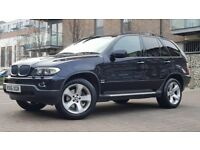 BMW X5 3.0 d Sport Exclusive SUV 5dr Diesel Automatic ((FSH+BEIGE LATHER+SAT NAV+R DVD))