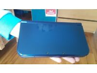 Nintendo New 3DS XL - Blue Metallic BRAND NEW w/ 2 games PA case