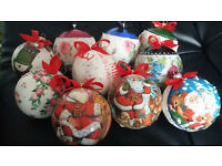 Perfect gift - Handmade Christmas Baubles