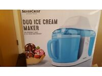 Duo Ice Cream Maker like New