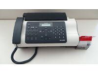 CANON FAX-JX200 FAX MACHINE & SPARE CARTRIDGE
