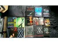 X files books (job lot)