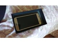 Brand new Samsung galaxy s6 platinum gold (o2). Never used so in perfect condition.