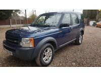 Land rover Discovery 3 7 seater 08 reg low mileage
