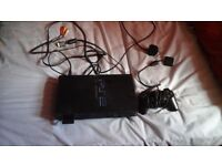 Playstation 2 with 17 games