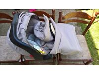 Graco Car Seat + Carry Cot