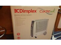 DIMPLEX ELECTRIC OIL -FREE RADIATOR