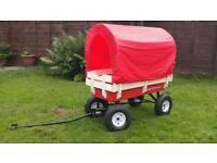 Kids or festival wagon