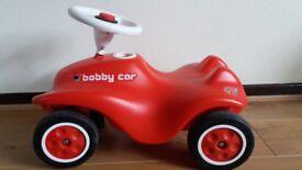 Big Red Bobby Car