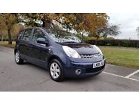 NISSAN NOTE 1.6 ACENTA 08 PLATE 2008 3 FORMER KEEPER 100,000 MILES FULL SERVICE HISTORY AIRCON ALOY