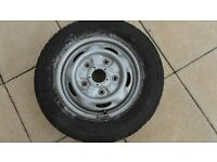 FORD TRANSIT WHEEL RIM WITH TYRE